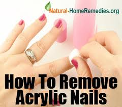 how to remove acrylic nails at home u0026 ways of removing acrylic