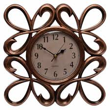 decorative wall clock buy wall décor wall clock with mirrors copper online low prices
