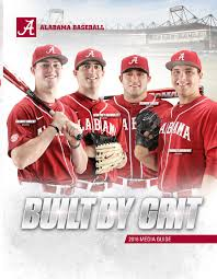 2016 baseball media guide by alabama crimson tide issuu