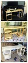 Building Wood Computer Desk by Best 25 Wood Computer Desk Ideas On Pinterest Simple Computer