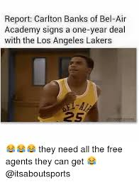 Bel Air Meme - report carlton banks of bel air academy signs a one year deal with