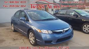2010 honda civic for sale 2010 honda civic lx in milwaukee wi trans auto