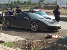 ferrari yellow car yellow ferrari 488 stolen in mexico then recovered in new black