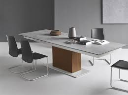 ceramic top dining room tables modern sincro extending dining table with a choice of ceramic top