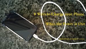 Charge Your Phone 8 Ways To Charge Your Phone When The Power Is Out Apartment Prepper