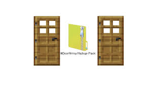 doorarmy mashup pack door skin cape texture pack and more