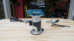 Fine Woodworking Compact Router Review by Makita Cordless Router Review Tools In Action Power Tool Reviews
