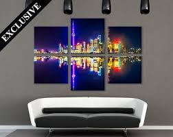 Modern Art Home Decor 107 Best Skylines U0026 Cityscapes Images On Pinterest Canvas Prints