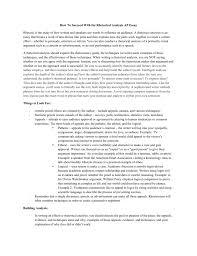 Sample Rhetorical Analysis Essay Ap English How To Succeed With The Rhetorical Analysis Ap Essay Rhetoric Is