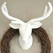 deer head home decor these bloggers want to turn your home into a fall fantasy land