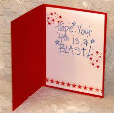 delightful happy july 4th card design using paper card
