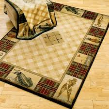themed rug delectably yours classic open golf area rug collection