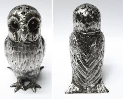 antique silver owl salt by george j richards u0026 edward c brown