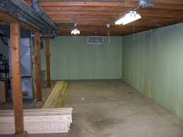 basement bedroom unfinished ceiling and cheap basement finishing ideas