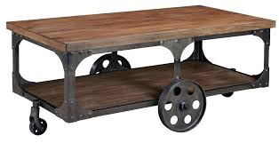Caster Coffee Table Coffee Table With Caster Wheels Raunsalon