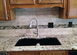 White Granite Kitchen Sink The Alaskan White Granite With The Black Sink Kitchen