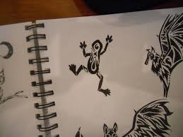 tribal frog by mikaylamettler on deviantart