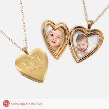 personalized photo locket necklace personalized locket necklace necklace