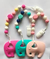silicone necklace teething images Bpa silicone baby teething pendant clips silicone teething jpg