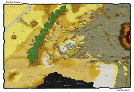 Map Of Avatar Last Airbender World by The Wertzone The Worlds Of D U0026d Dark Sun