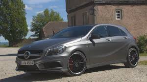 grey mercedes a class 2014 mercedes a45 amg mountain grey