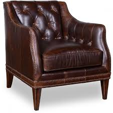 Leather Occasional Chairs A R T Furniture Kennedy Walnut Kennedy Walnut Matching Leather Chair