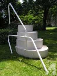 wedding cake steps for above ground pool 5005 ne100bl 25 best