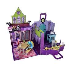 Monster High Doll House Furniture 66pcs Monster Inc Hight 3d Puzzle Model Cartoon Monster High
