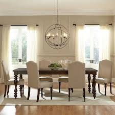 dining room decor ideas traditional style with rustic metal