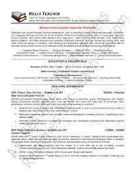 teaching resume exles resume resume sle resumes
