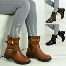 s zip ankle boots uk womens ankle boots side zip buckle fashion shoes size