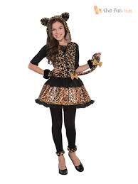 age 8 16 girls teen sassy stripes cat zebra halloween fancy dress