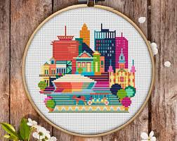 cross stitch pattern etsy