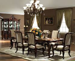 Expandable Dining Room Sets Enchanting Round Expandable Dining Table With Black Dining Chairs