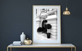 chanel print chanel poster chanel store coco chanel print