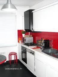 deco cuisine noir et blanc dcoration cuisine blanche tendance dcoration cuisine blanche with
