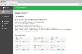 Resume Matching Software Automated Resume Search Talview
