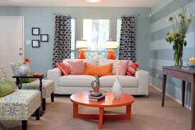 Orange Accent Wall by Charming Accent Wall For Living Room Blue Rooms Navy Accents Grey