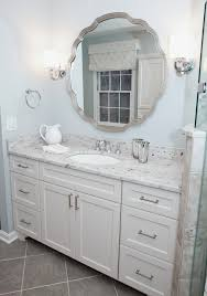 Bathroom Vanity Colors Painted Bathroom Vanity Bathroom Traditional With Blue Gray Wall