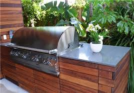 outdoor kitchen furniture ipe grill counter built in outdoor kitchen landscaping