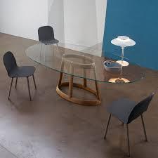 tavoli di cristallo sala da pranzo tavolo da pranzo rotondo in marmo greeny di bonaldo arredaclick
