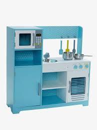vertbaudet cuisine bois grande cuisinette en bois bleu vertbaudet