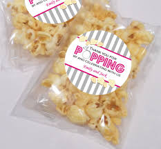 popcorn wedding favors thanks for popping by personalised wedding popcorn favour kits