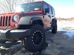 dark blue jeep rubicon pro comp wrangler series 7031 flat black wheel 16x8 7031 6873