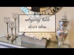 entry way table decor entryway table decor ideas youtube