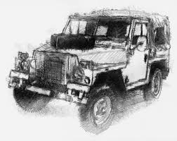 land rover drawing sketch a day seanbriggs part 3