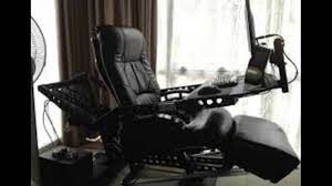 Good Desk Chair For Gaming by Gaming Chair With Built In Joysticks Gaming Keyboard Youtube
