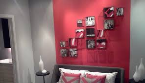 Red Bedroom Accent Wall 53 Bold Red Accent Walls To Beautify Your Home Red Accent Wall