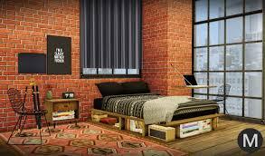 maxims u0027s u2013 3t4 ms91 industrial rustic bedroom rustic bedframe