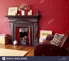 Viewpoint Leather Sofa by Brown Leather Sofa Fireplace Stock Photos U0026 Brown Leather Sofa